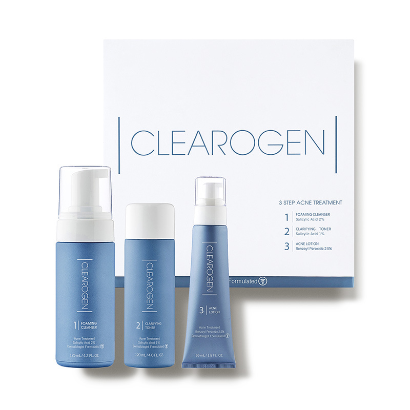 """Featured image for """"CLEAROGEN -  3-Step Acne Treatment Set"""""""